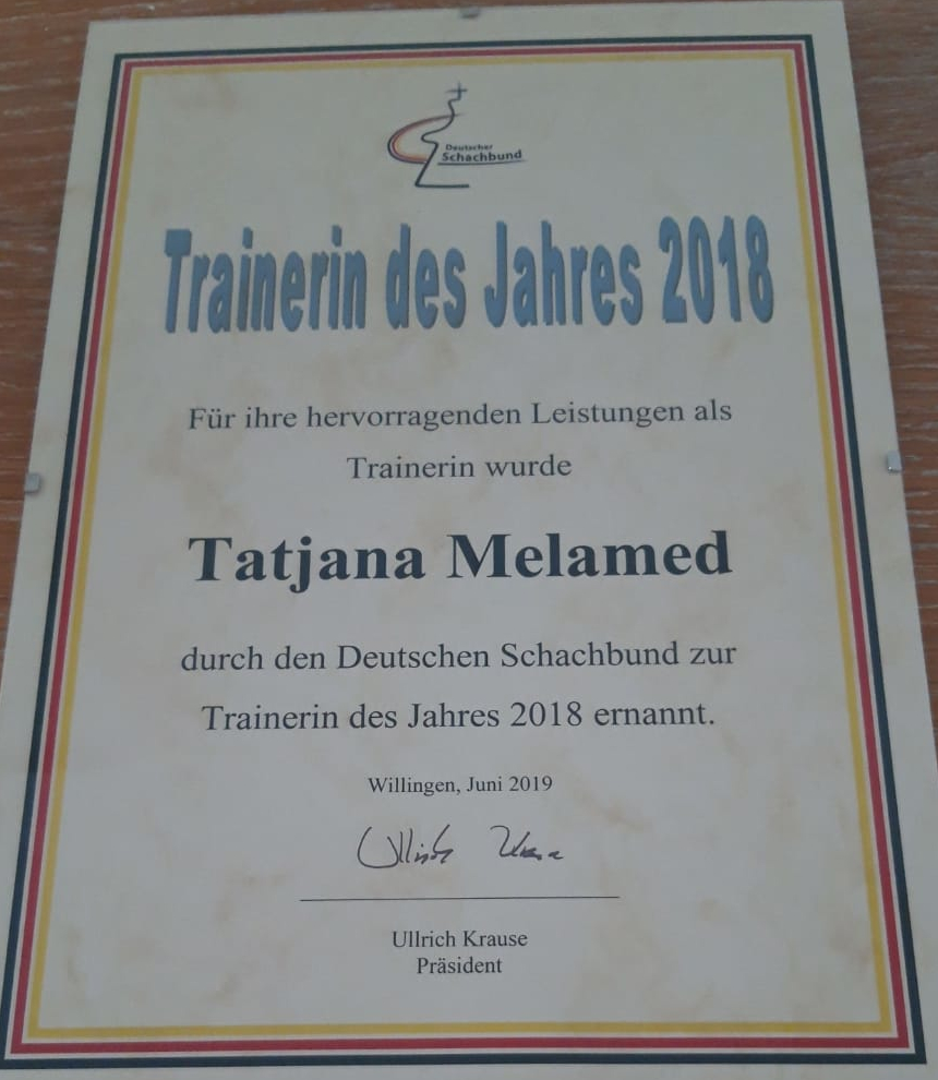 TatjanaMelamed Trainerin2018
